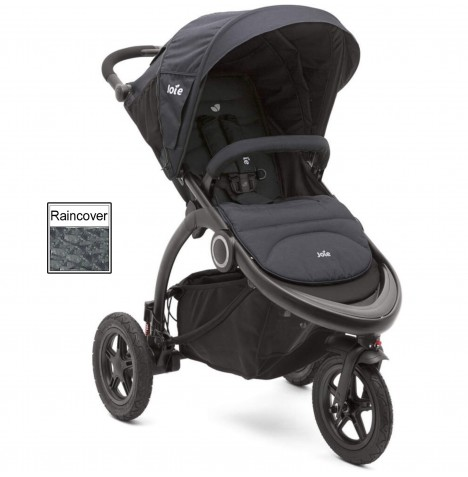 Joie Crosster 3 Wheeler Pushchair Stroller - Asphalt..