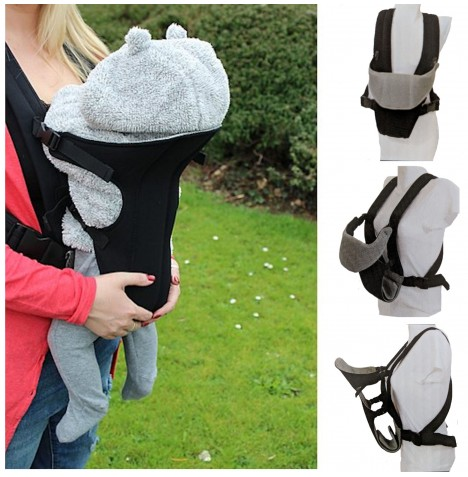 Red Kite Carry Me 2 Way Baby Carrier - Black..