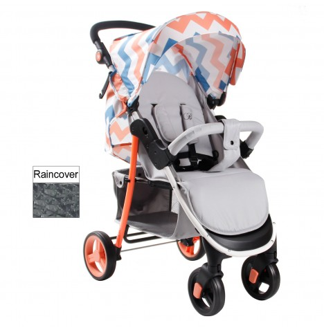 My Babiie MB30 Pushchair *Billie Faiers Signature Range* - Coral Chevron
