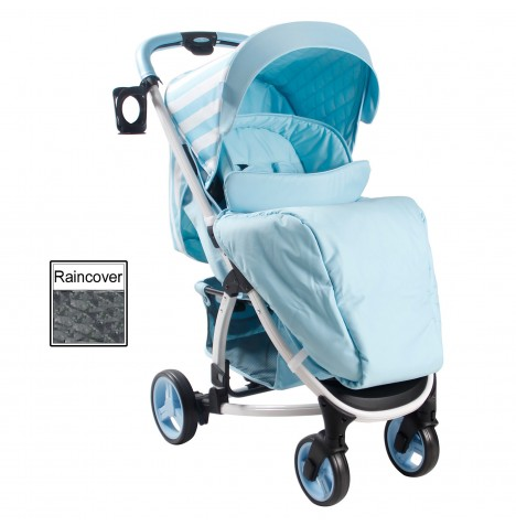 My Babiie MB100 Pushchair *Billie Faiers Signature Range* - Blue Stripes
