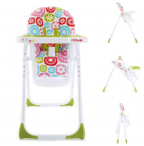 My Babiie MBHC8 Highchair - Floral