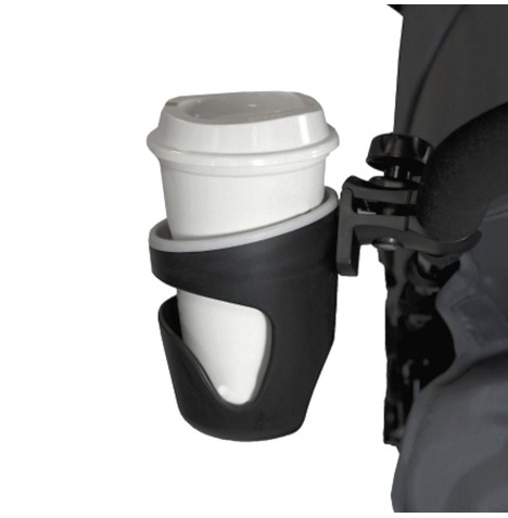 Red Kite Feeding Bottle / Cup Holder - Black
