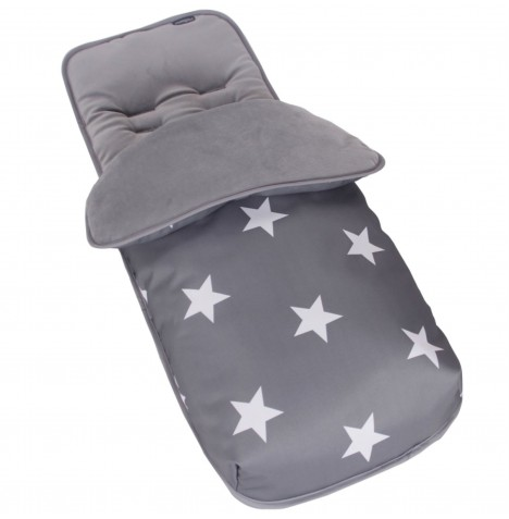 My Babiie Footmuff / Cosytoes - Grey Stars