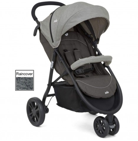 Joie Litetrax 3 Wheel Stroller - Dark Pewter..
