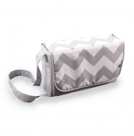 My Babiie Changing Bag - Grey Chevron