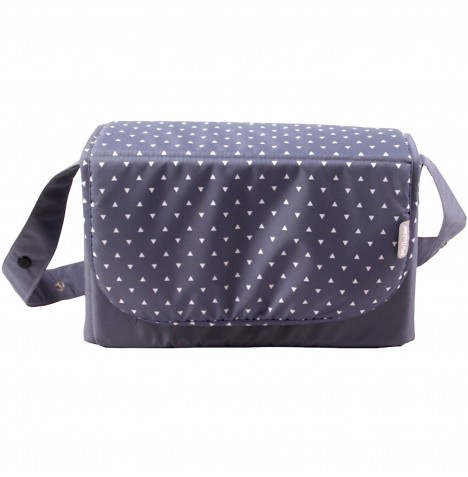 My Babiie Changing Bag - Grey Triangles