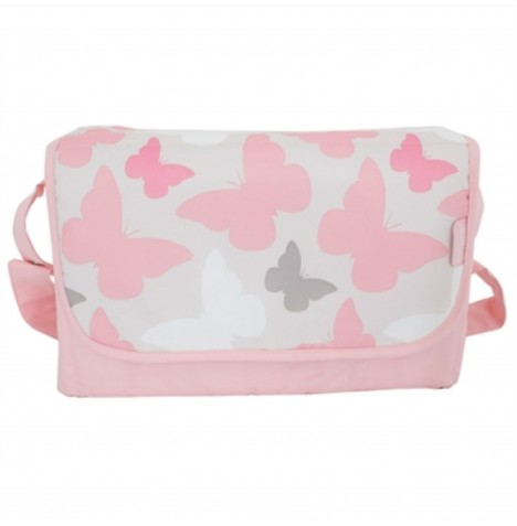 My Babiie Changing Bag - Pink Butterflies