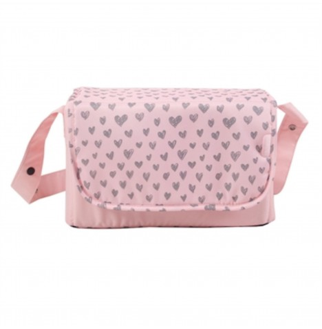 My Babiie Changing Bag - Pink Hearts