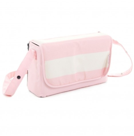 My Babiie Changing Bag - Pink Stripes