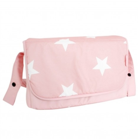My Babiie Changing Bag - Pink Stars