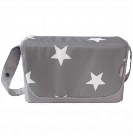 My Babiie Changing Bag - Grey Stars