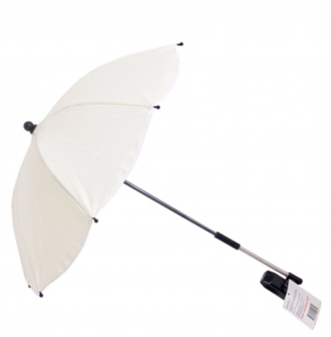 My Babiie Pushchair Sun Parasol - Cream