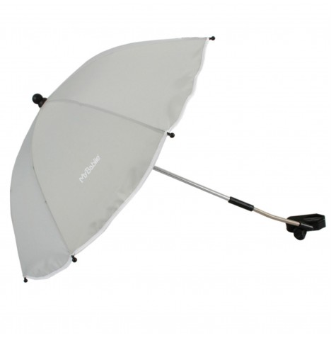 My Babiie Pushchair Sun Parasol - Grey