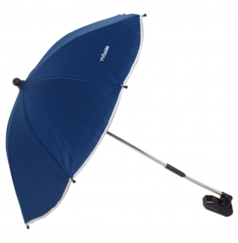 My Babiie Pushchair Sun Parasol - Navy Blue