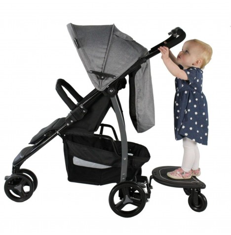 4baby Easy Rider Plus Universal Stroller/Buggy Board - Black