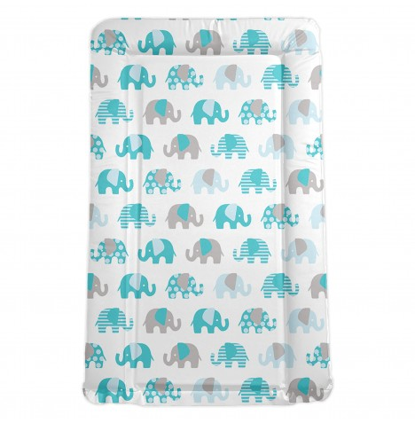 My Babiie *Billie Faiers Collection* Changing Mat - Nelly The Elephant (Blue)