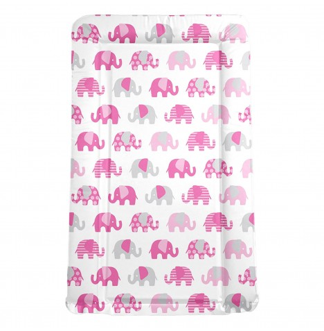 My Babiie *Billie Faiers Collection* Changing Mat - Nelly The Elephant (Pink)