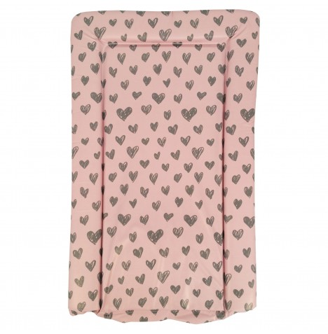 My Babiie Changing Mat - Pink Hearts
