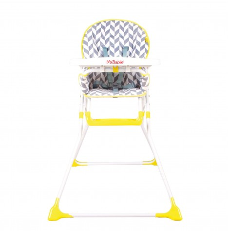My Babiie MBHC1 Compact Highchair - Herringbone