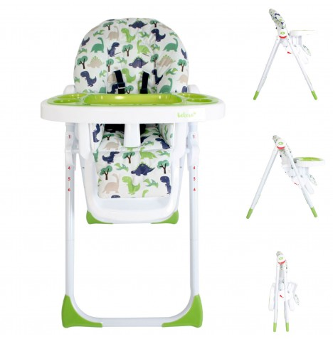 My Babiie MBHC8 *Katie Piper Collection* Premium Highchair - Dinosaurs