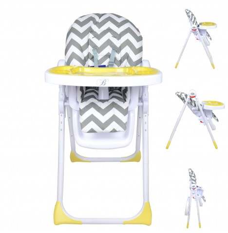 My Babiie MBHC8 *Billie Faiers Collection* Premium Highchair - Chevron