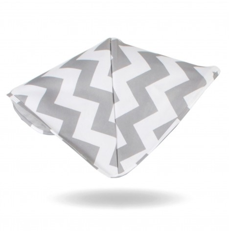 My Babiie Replacement Hood For MB150 Pushchair - Grey Chevron