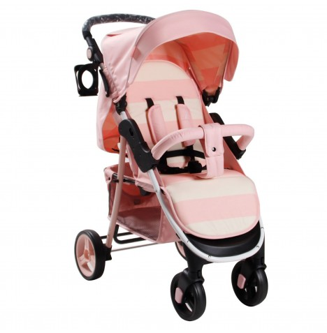 My Babiie MB30 Pushchair *Billie Faiers Signature Range* - Pink Stripes