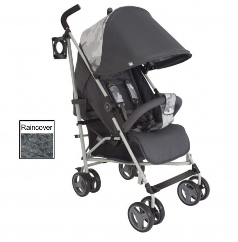 My Babiie MB02 Stroller *Katie Piper Believe Collection* - Grey Camo