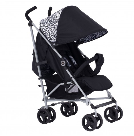 My Babiie MB02 Stroller *Sam Faiers Dreamiie Collection* - Black Leopard