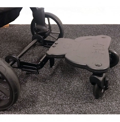4baby Easy Rider Plus Universal Stroller/Buggy Board - Black..