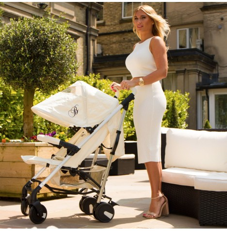 My Babiie MB51 Stroller *Billie Faiers Collection* - Cream
