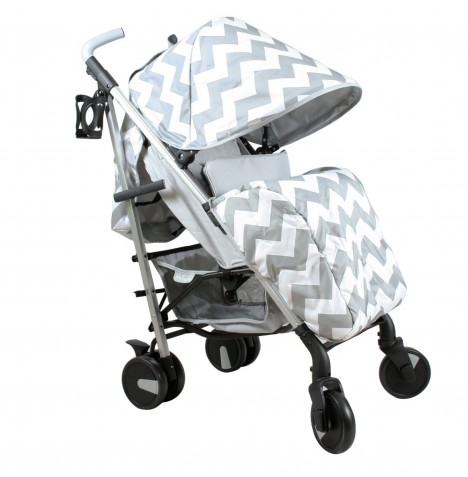My Babiie MB51 Stroller *Billie Faiers Collection* - Grey Chevron