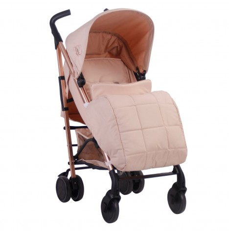 My Babiie MB51 Stroller *Billie Faiers Collection* - Rose Gold & Blush