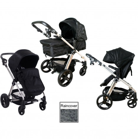 My Babiie MB150 2in1 Pram / Pushchair - Croc