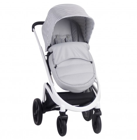 My Babiie MB300 Pushchair *Sam Faiers Collection* - Grey Stripes