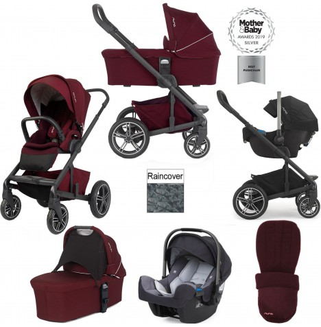 Nuna Mixx Travel System - Berry