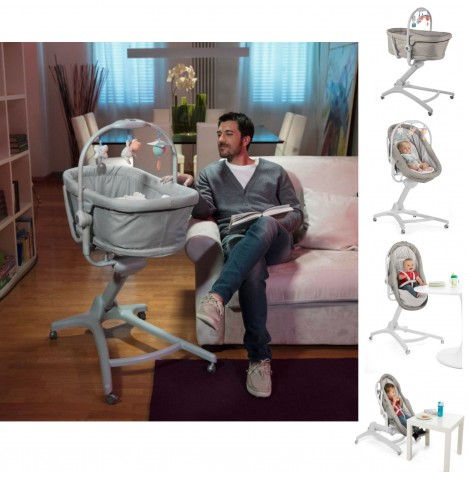 Chicco 4in1 Baby Hug Crib / Seat - Legend