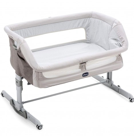 Chicco Next 2 Me Dream Side Sleeping Rocking Crib - Legend Grey