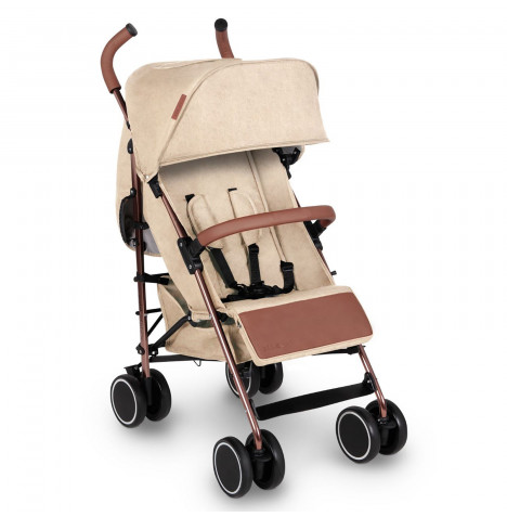 Ickle Bubba Discovery Stroller - Sand On Rose Gold
