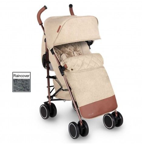 Ickle Bubba Discovery Max Stroller - Sand On Rose Gold