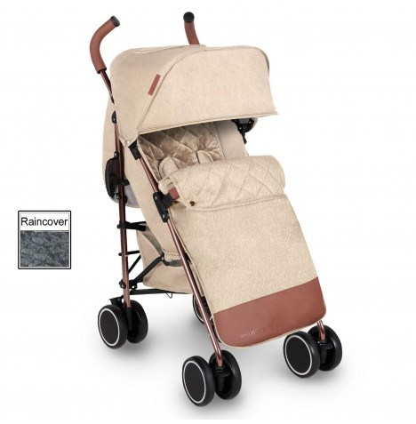 Ickle Bubba Discovery Prime Stroller - Sand On Rose Gold