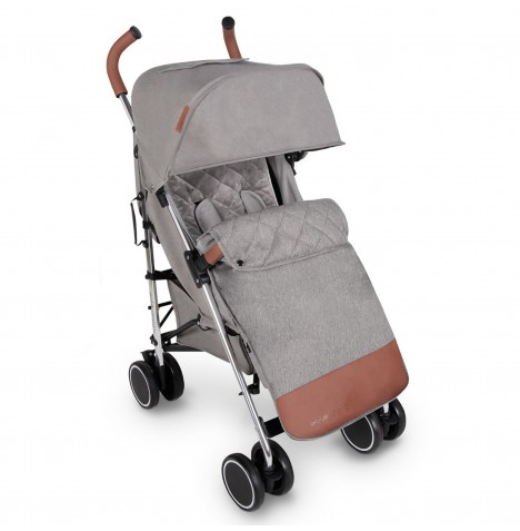 Ickle Bubba Discovery Prime Stroller - Grey On Silver