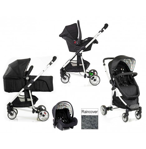 My Child Floe 2 in 1 Travel System - Rainbow Squiggle