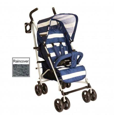My Babiie MB01 Stroller *Billie Faiers Signature Range* - Blue Stripes