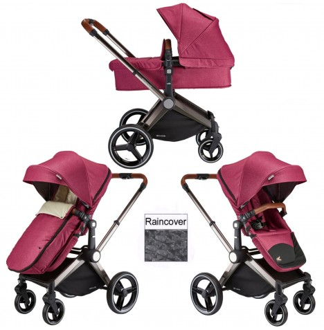 Venice Child Kangaroo 2 in 1 Pram / Pushchair - Radiant Orchid