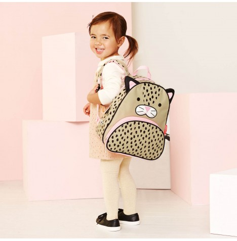 Skip Hop Zoo Pack Children's Back Pack - London Leopard