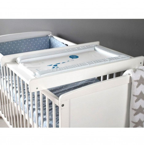 Little Acorns Cot Top Changer - White