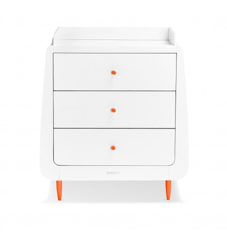 Snuz SnuzKot Skandi Changing Unit - Orange