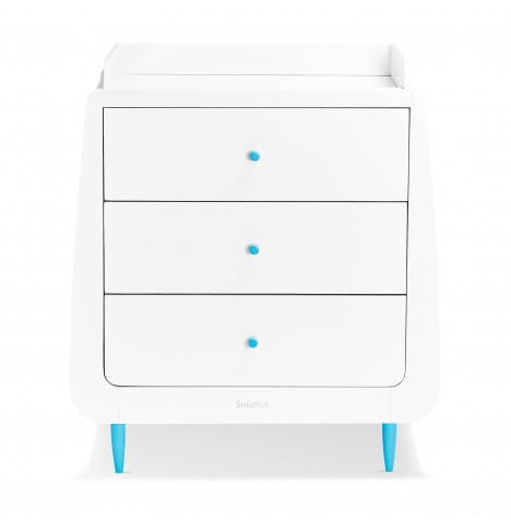 Snuz SnuzKot Skandi Changing Unit - Blue