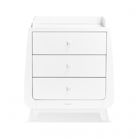 Snuz SnuzKot Luxe Changing Unit - White